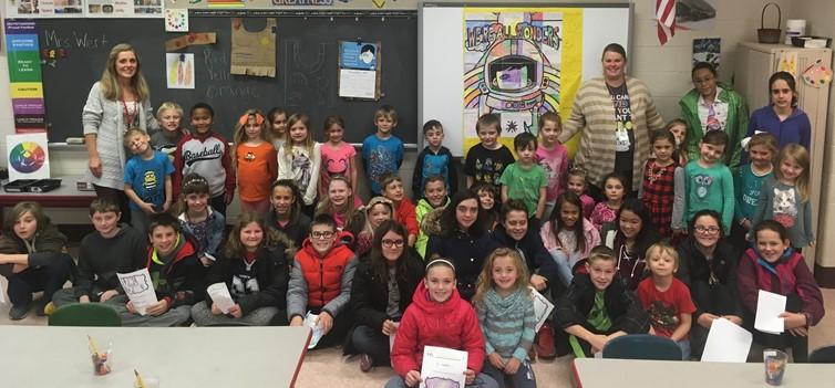 6th Grade & Kindergarten Book Buddies
