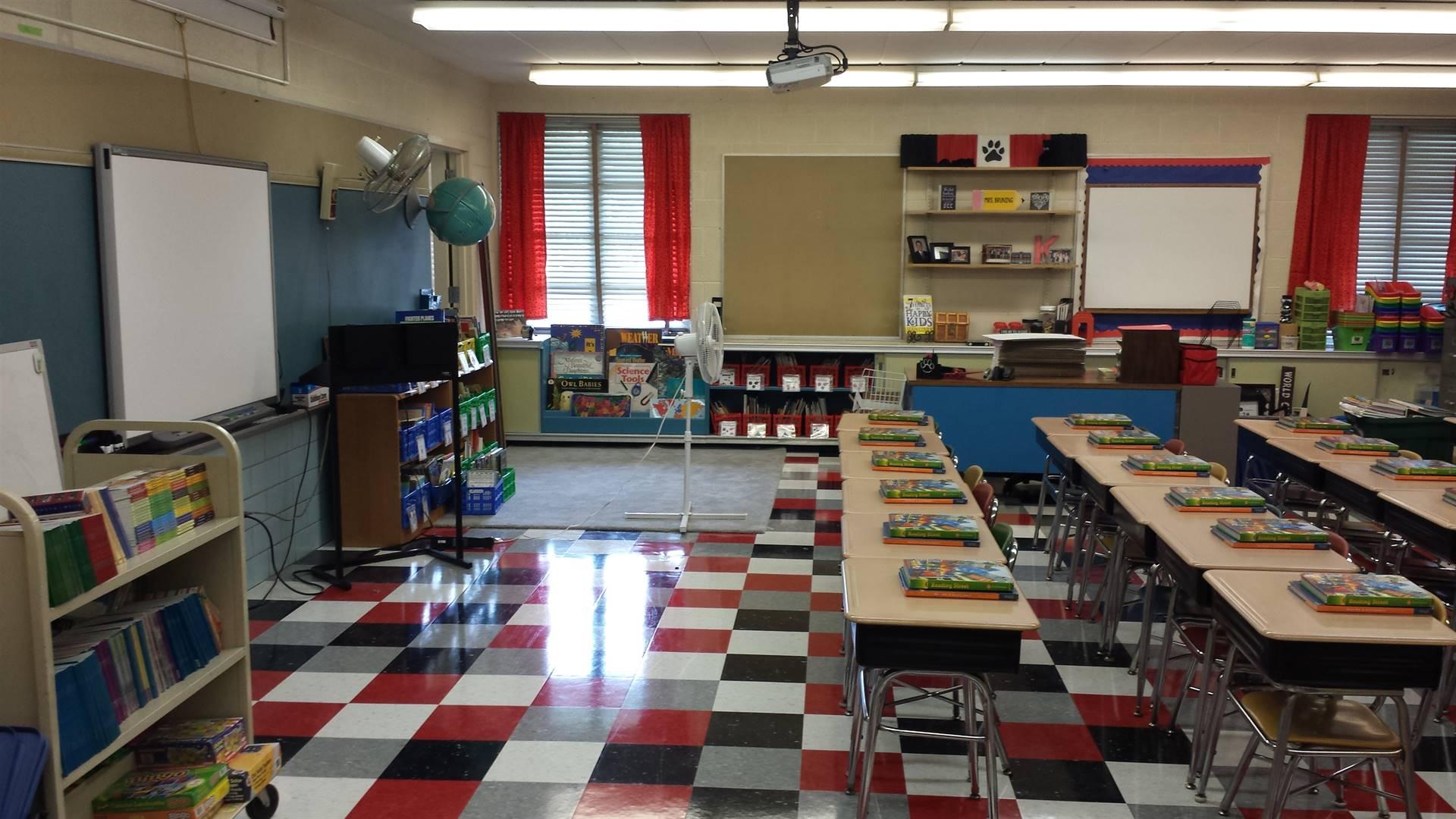 New NES classroom