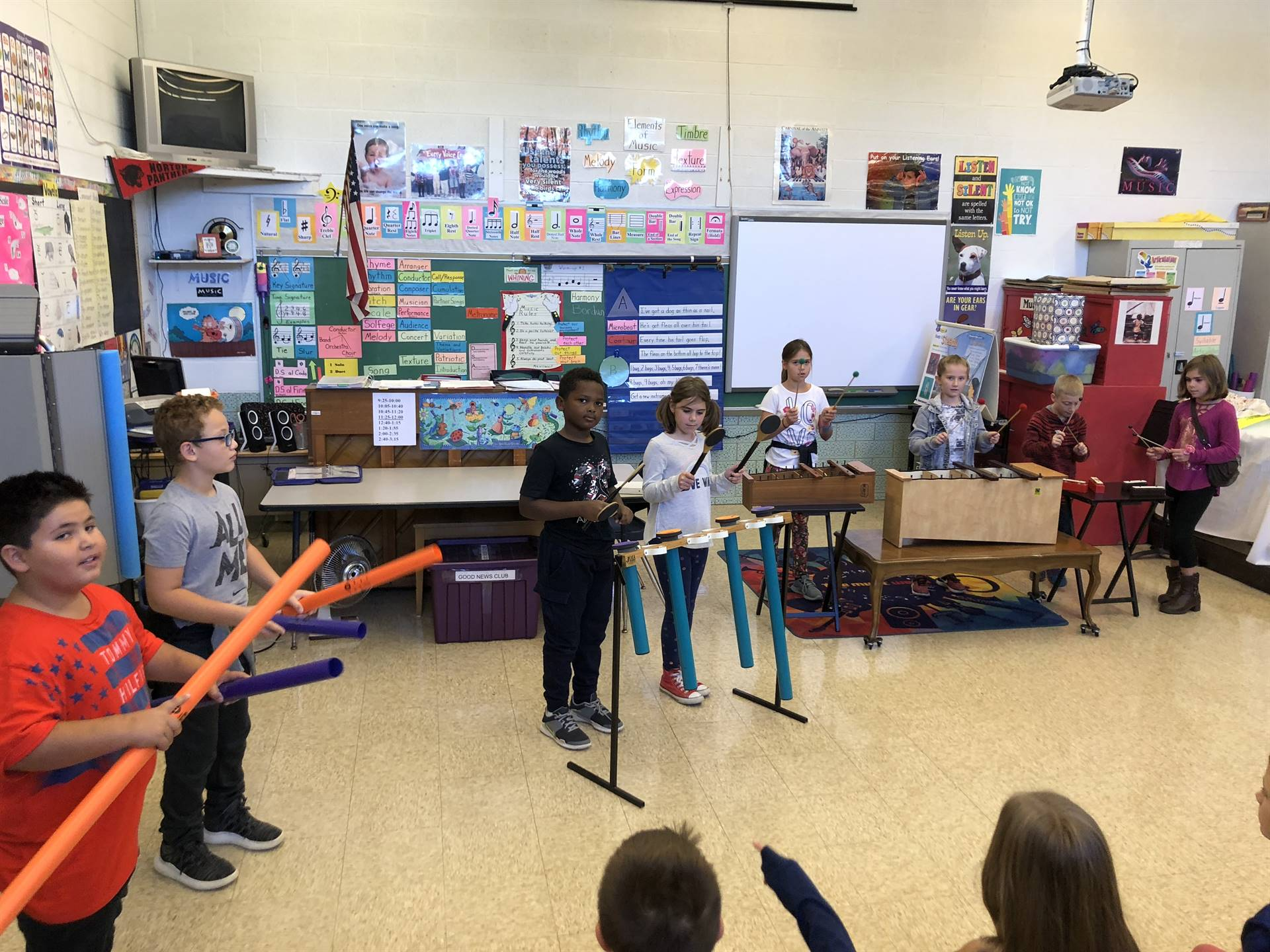 """3rd Graders Playing the Song """"I've Got A Dog."""""""