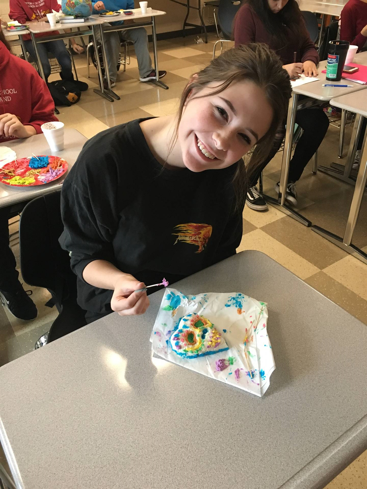 Day of the Dead in Spanish Class