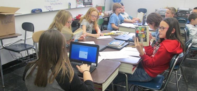 Mrs. Kutschbach's class has been reading 11 Birthdays!