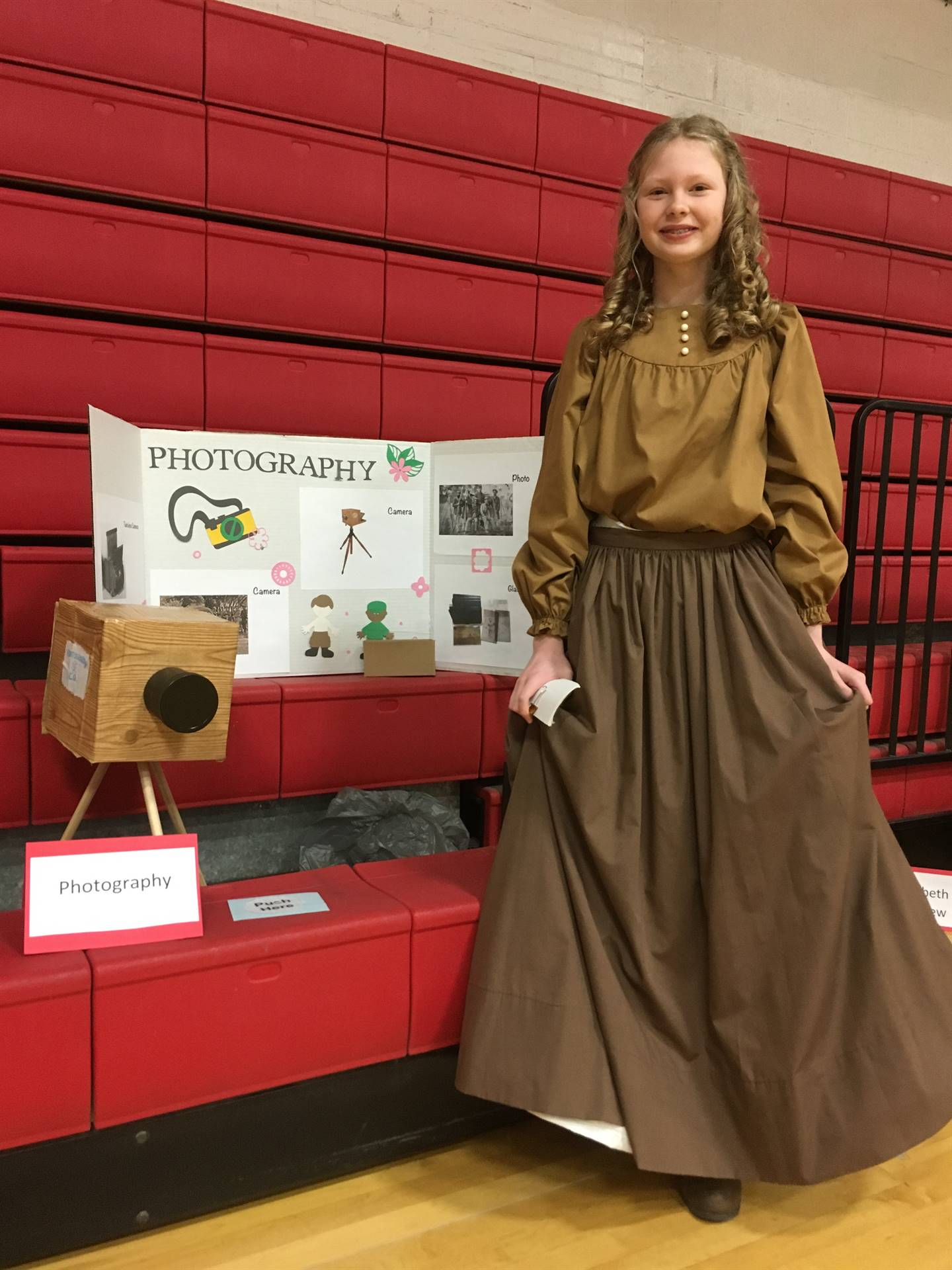 Sixth graders did a fabulous job during the Civil War wax museum!