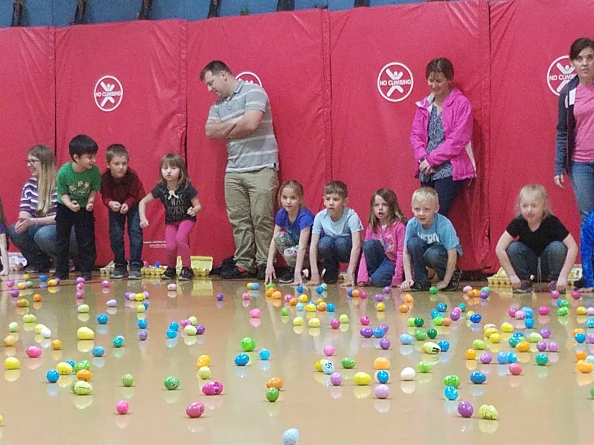 Primary Alphabet Egg Hunt