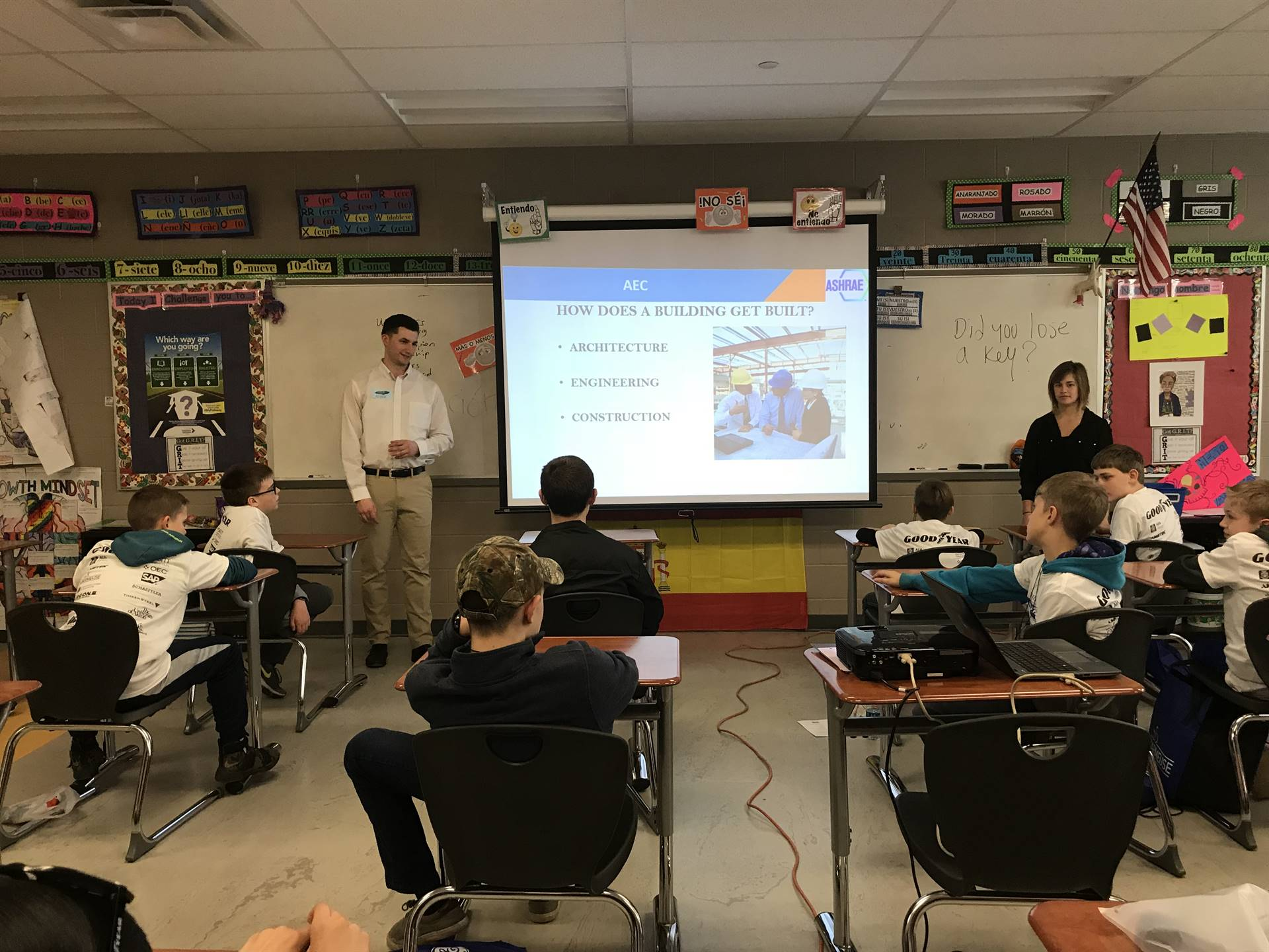 NMS students spend their Saturday with architects and engineers at Goodyear's S.T.EM. Day