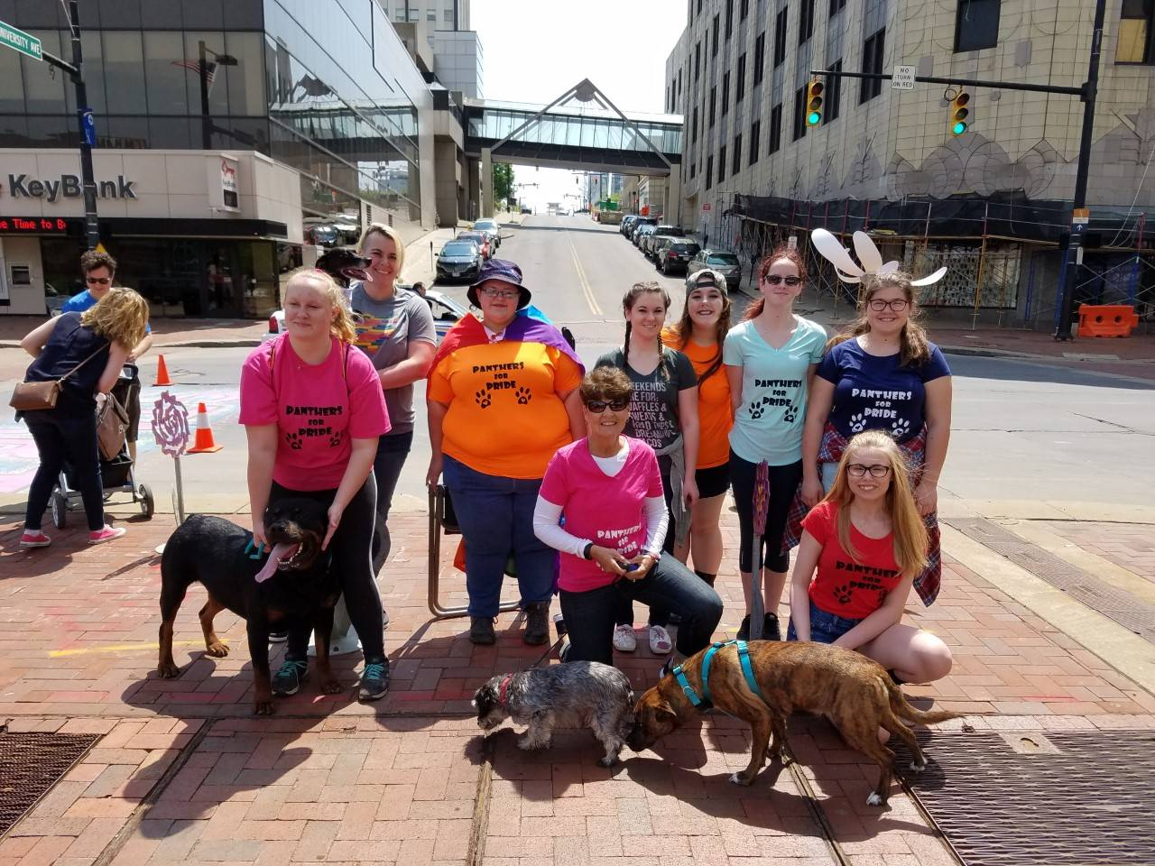 GSA Panthers for Pride Raises Money for Bark in the Park