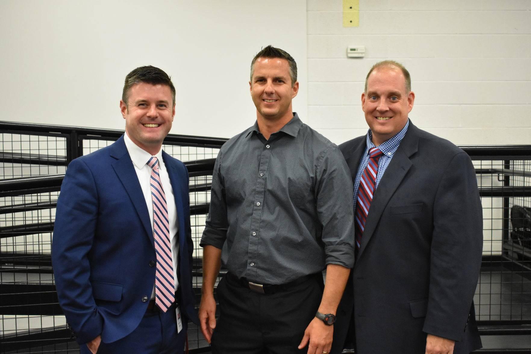 Mr. Oswald, Mr. Sackett, and Mr. Morris
