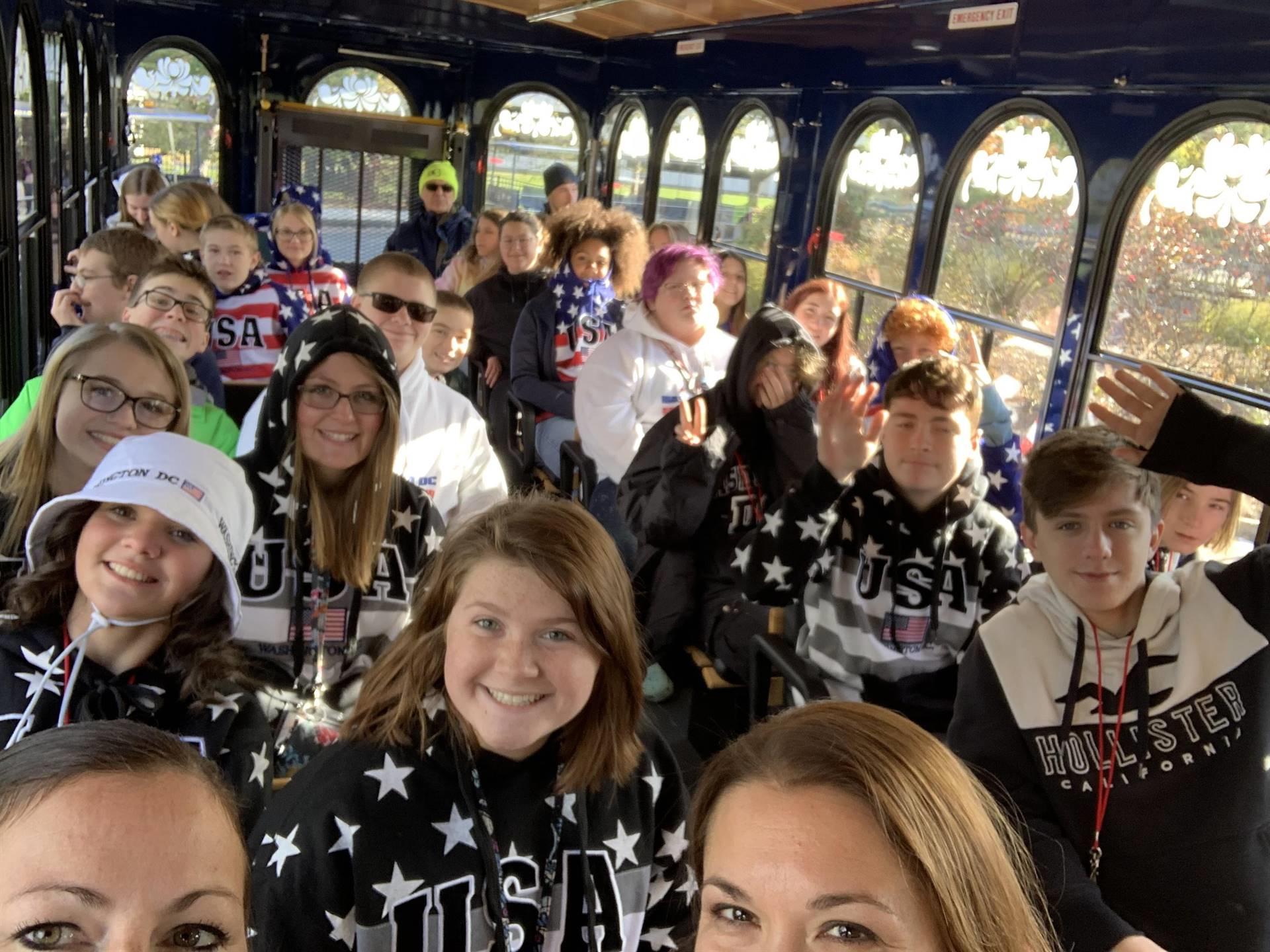 Bus-riding fun!