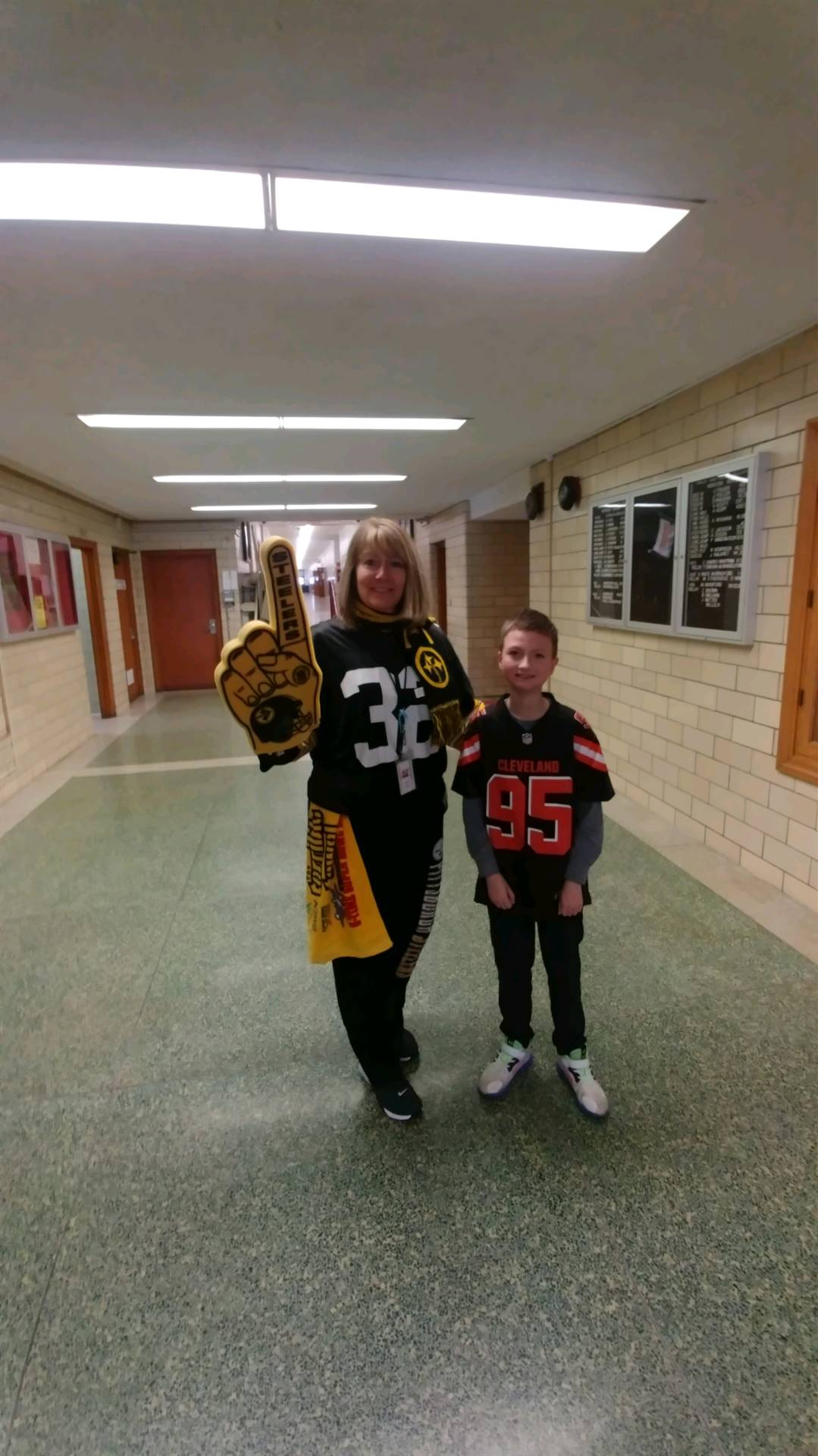 Mrs. Virgin forgets she lives in Browns Country!