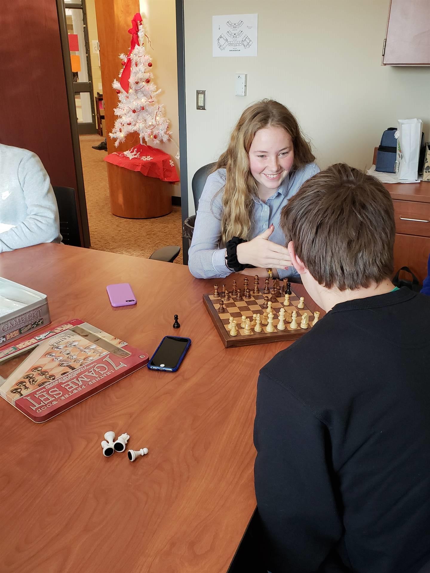 Chess at NHS!