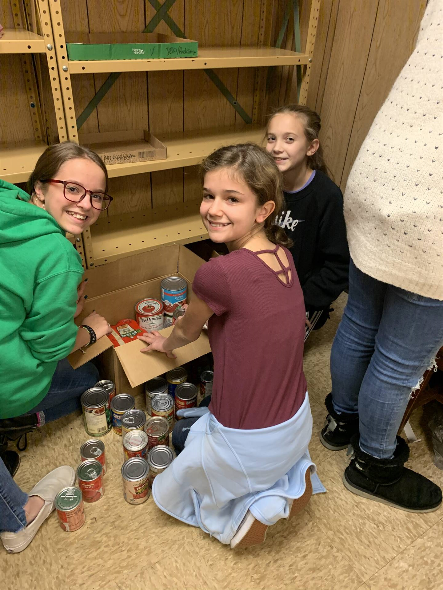 Canned Food Drive - Goodwill in Action