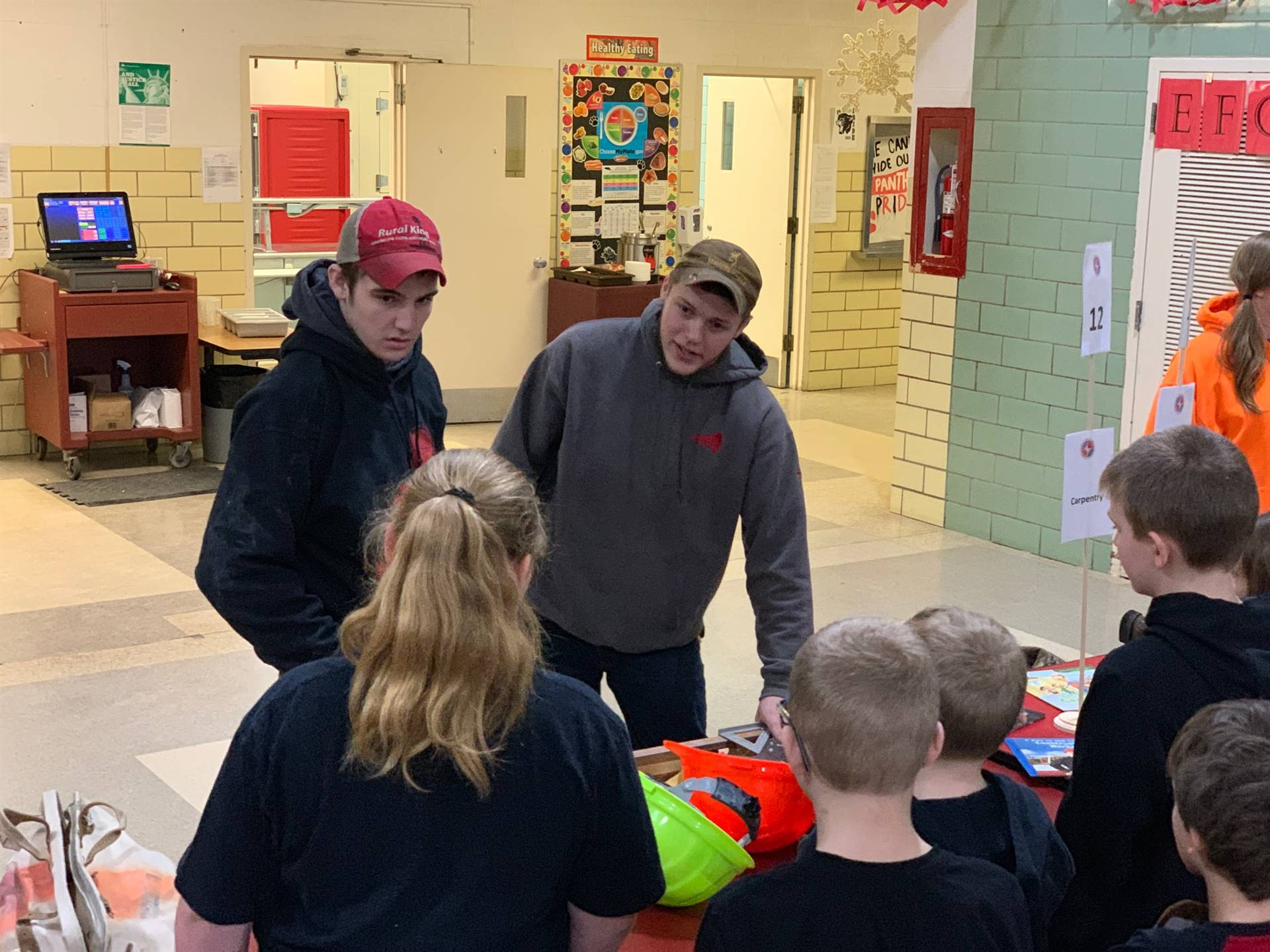 4th Grade Students Explore Career Interests with High School Students from the Four Cities Compact