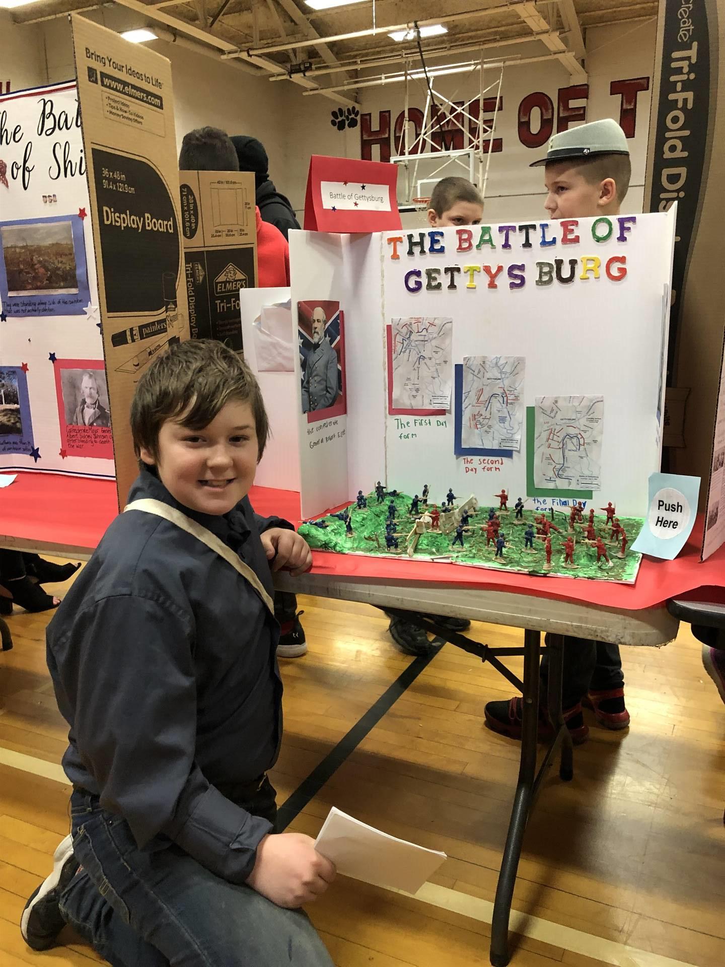 6th Grade Civil War Wax Museum