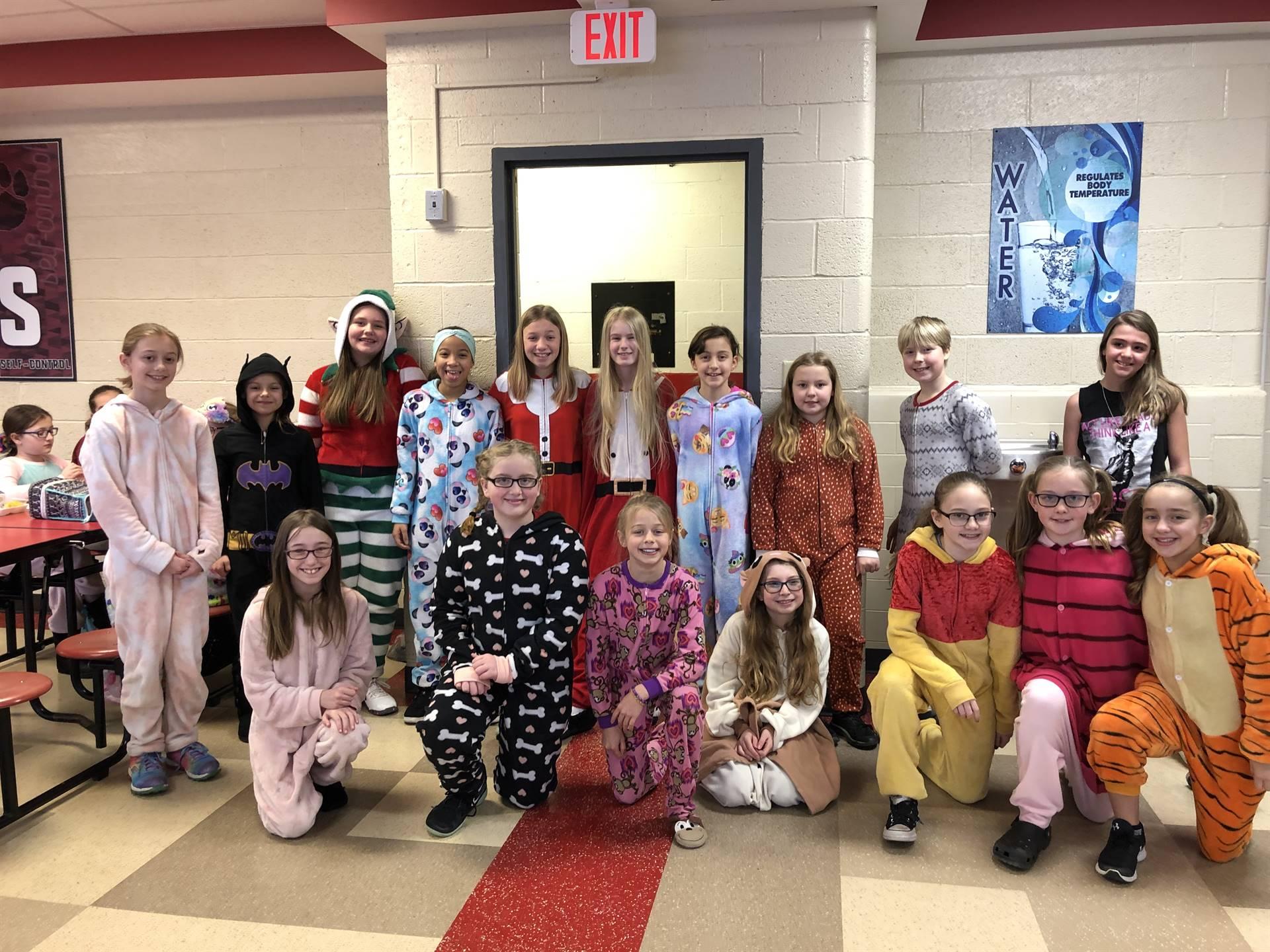 Random Acts of Kindness Spirit Week- Pajama Day