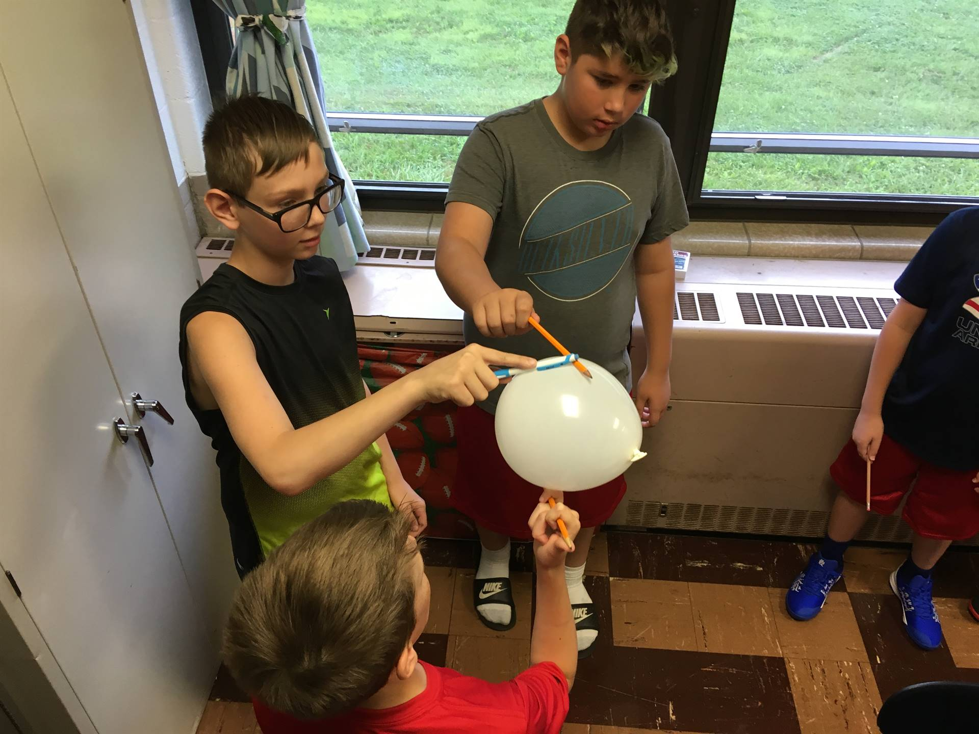 Team Building Activity  - 6th grade