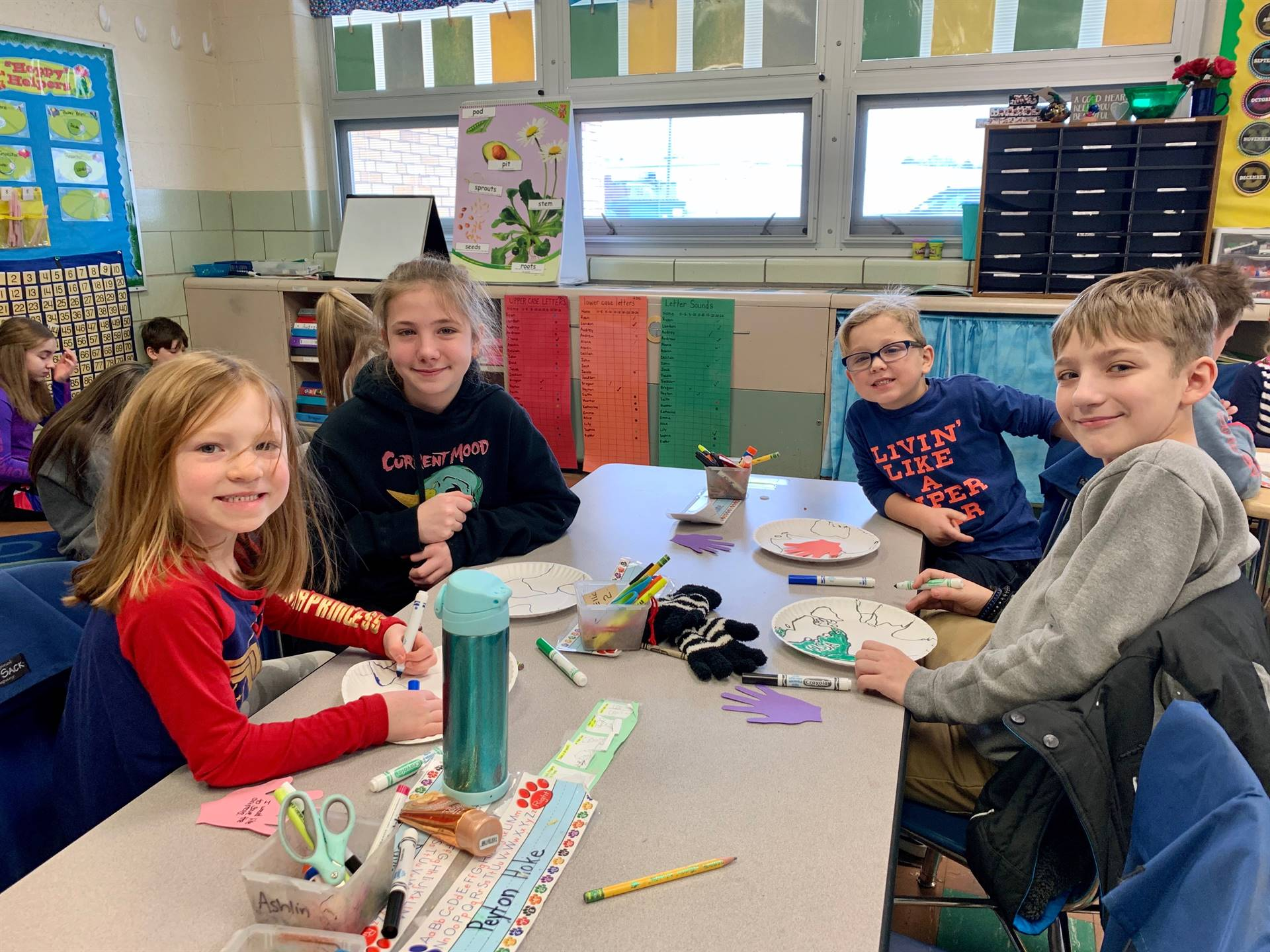 6th grade Reading Buddy Program