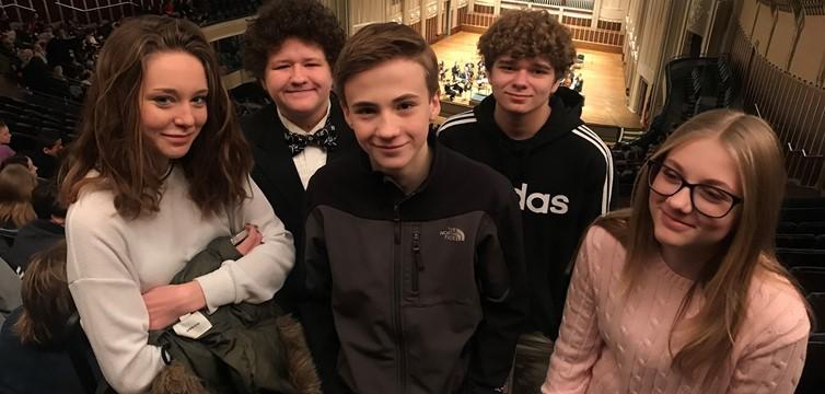 MS Band at Severance Hall