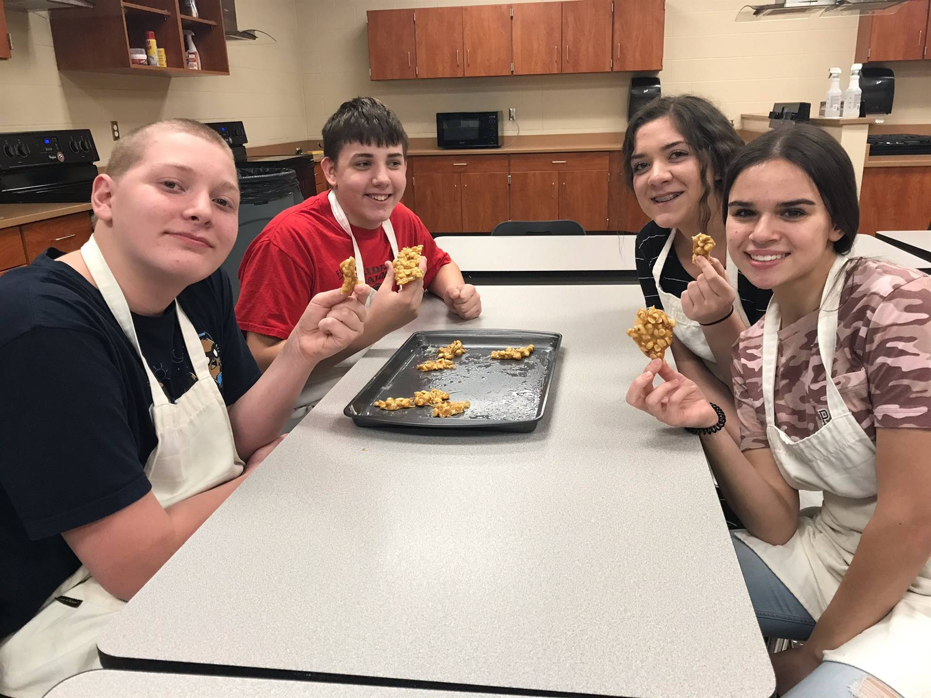 Our Global Foods students are trying out their Chinese Peanut.