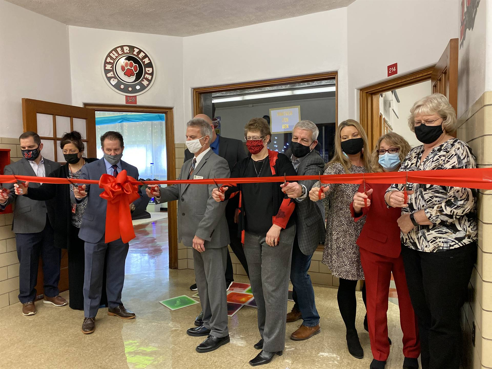 Ribbon Cutting Ceremony - Panther Zen Den (Calm Room)