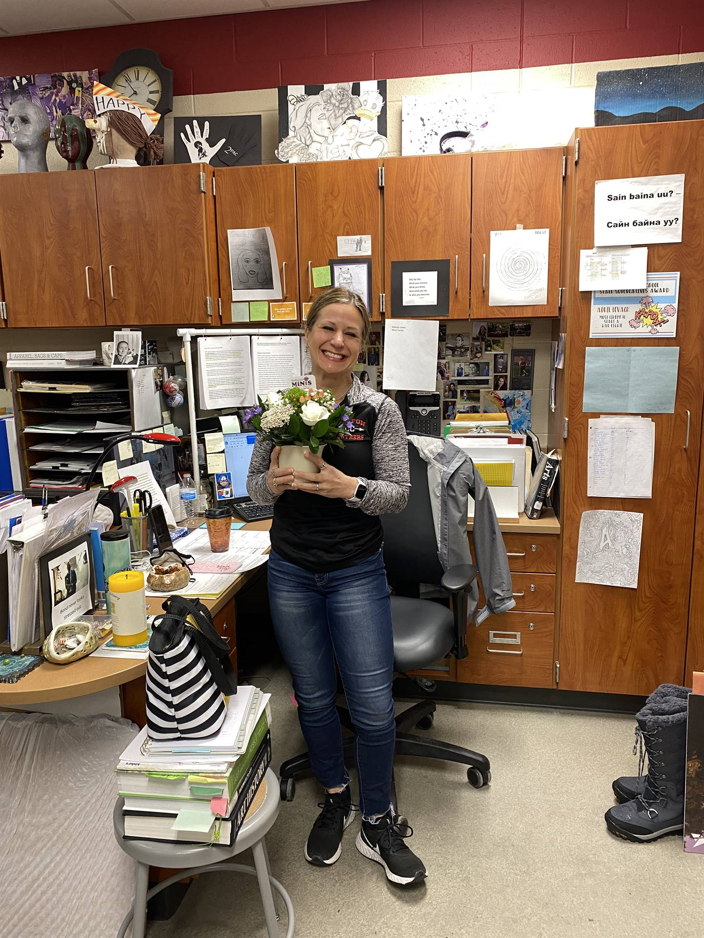 Mrs. Levack Named Teacher of the Year at NHS!
